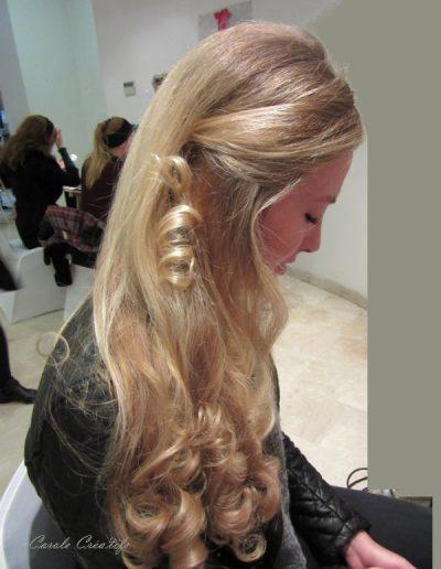 boucles - blondes